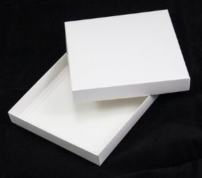 "6"" x 6"" White Greeting Card Boxes For Handmade Cards - SC2"
